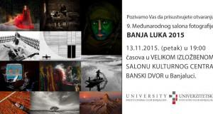 Pozivnica - 9.Medjunarodni salon fotografije BANJALUKA 2015-1000