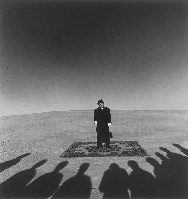 Shoji Ueda; Dunes, Portrait de Monsieur Sohji Yamakawa, 1984